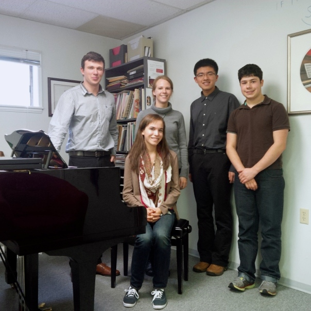 Terrific masterclass with lovely students at West Point Grey School of Music!