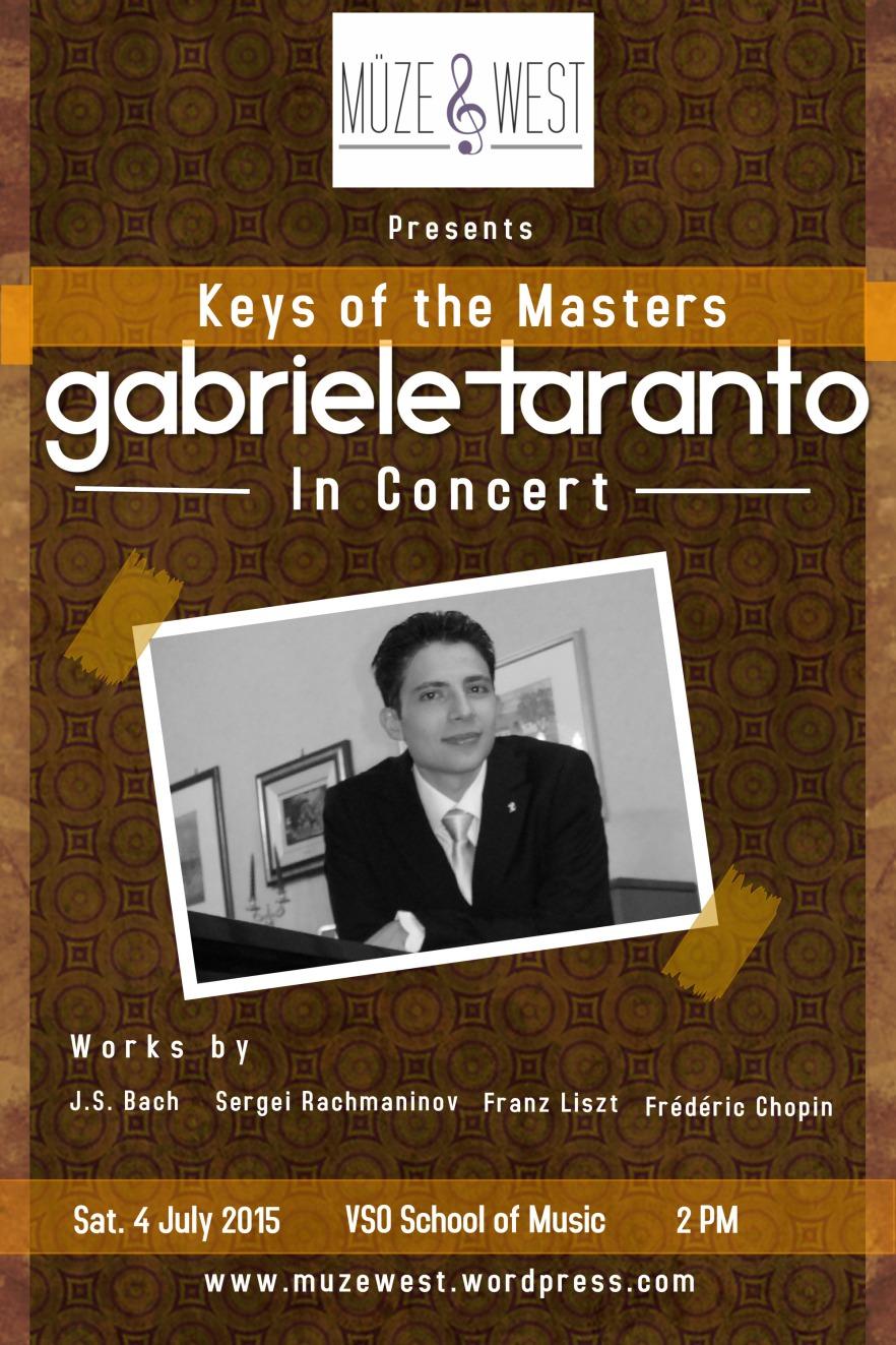 Gabriele Taranto, pianist