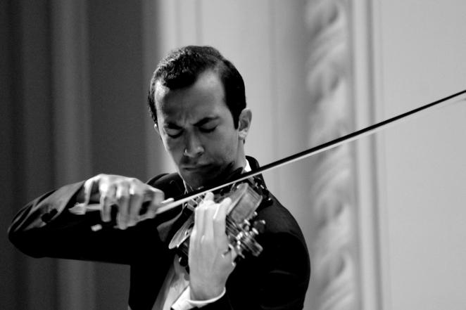 Haik Kazazyan, third prize winner of the 2015 International Tchaikovsky Competition.